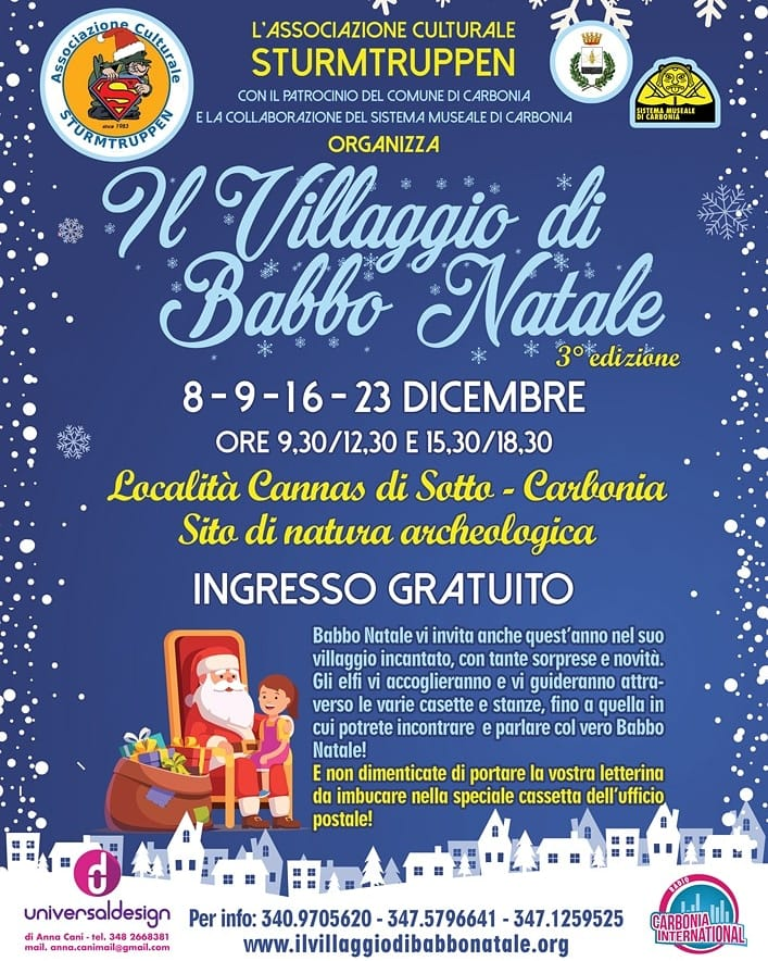 villaggio natale carbonia